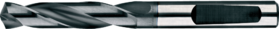 Spiraalboor volhardmetaal kort DIN 1897- 11.250 - DIN 6537-K' voor boordiepte 3xD' met cil. schacht volgens DIN 6535-HA' PHD-aanslijping' tophoek 140°