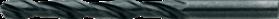 Printplaatboor- 11.360 - met verdikte schacht 3'175 mm' tophoek 118°' met meervlaks-kruisaanslijping