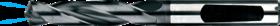 Spiraalboor volhardmetaal kort DIN 1897- 11.253 - DIN 6537-K' voor boordiepte 3xD' met cil. schacht volgens DIN 6535-HA' PHD-aanslijping' tophoek 140°