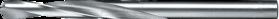 Spiraalboor volhardmetaal standaard DIN 338- 11.654 - DIN 338' cil. schacht' korte uitvoering' tophoek 118°' met meervlaks-kruisaanslijping