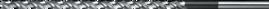 Spiraalboor extra lang DIN 1869- 11.900 - DIN 1869' cil. schacht' extra lange uitvoering' met verdunde punt' tophoek 118°