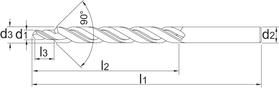 Meerfaseboor- 16.250 - DIN 8378' cil. schacht