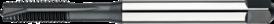 Machinetap voor doorlopende gaten' Metrisch- 22.220 - DIN 371' 60°' verdikte schacht' met schilaansnijding voor doorlopende gaten' aansnijding 4-5 gangen