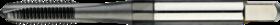 Machinetap voor doorlopende gaten' Metrisch- 22.268 - DIN 371' 60°' verdikte schacht' voor doorlopende gaten' aansnijding 4-5 gangen