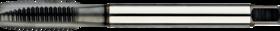 Machinetap voor doorlopende gaten' Metrisch- 22.269 - DIN 376' 60°' dunne schacht' voor doorlopende gaten' aansnijding 4-5 gangen