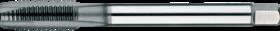 Machinetap voor doorlopende gaten' Metrisch- 22.605 - DIN 376' 60°' verdikte schacht' met schilaansnijding voor doorlopende gaten' aansnijding 4-5 gangen' tevens geschikt voor ongelegeerd staal