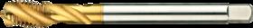 Machinetap voor blinde gaten' Metrisch- 23.298 - DIN 376' 60°' dunne schacht' spiraalhoek 35°' voor blinde gaten' aansnijding 2-3 gangen