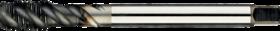 Machinetap voor blinde gaten' Metrisch- 23.369 - DIN 376' 60°' dunne schacht' spiraalhoek 50°' voor blinde gaten' aansnijding 2-2'5 gangen