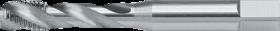 Machinetap voor blinde gaten' Metrisch- 23.585 - DIN 371' 60°' voor inzetschroefdraden' spiraalhoek 40°' voor blinde gaten' aansnijding 2'5 gangen