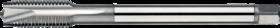 Machinetap voor doorlopende gaten' Metrisch Fijn- 23.620 - DIN 374' 60°' dunne schacht' met schilaansnijding voor doorlopende gaten' aansnijding 5 gangen