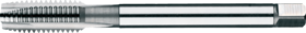 Machinetap voor doorlopende gaten' UNC- 24.121 - DIN 376' 60°' dunne schacht' met schilaansnijding voor doorlopende gaten' aansnijding 5 gangen