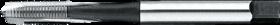 Machinetap voor doorlopende gaten' UNF- 24.520 - DIN 371' 60°' verdikte schacht' met schilaansnijding voor doorlopende gaten' aansnijding 5 gangen