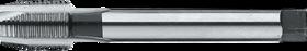 Machinetap voor doorlopende gaten' BSP (gasdraad)- 25.100 - DIN 5156' 55°' dunne schacht' met schilaansnijding voor doorlopende gaten' aansnijding 5 gangen