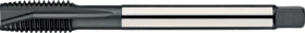 Machinetap voor doorlopende gaten' Metrisch- 22.221 - DIN 376' 60°' dunne schacht' met schilaansnijding voor doorlopende gaten' aansnijding 4-5 gangen