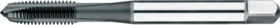 Machinetap voor doorlopende gaten' Metrisch- 22.240 - DIN 371' 60°' verdikte schacht' met schilaansnijding voor doorlopende gaten' aansnijding 4-5 gangen