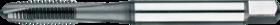 Machinetap voor doorlopende gaten' Metrisch- 22.504 - DIN 371' 60°' verdikte schacht' met schilaansnijding voor doorlopende gaten' aansnijding 4-5 gangen