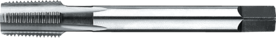 Machinetap voor blinde en doorlopende gaten' NPT- 25.820 - DIN 374' 60°' coniciteit 1:16' dunne schacht' voor doorlopende en blinde gaten' aansnijding 2'5 gangen