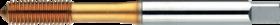 Roltap' Metrisch- 26.110 - DIN 2174' 60°' verdikte schacht' voorvorming 3 gangen
