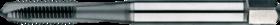 Machinetap voor doorlopende gaten' Metrisch- 22.604 - DIN 371' 60°' verdikte schacht' met schilaansnijding voor doorlopende gaten' aansnijding 4-5 gangen' tevens geschikt voor ongelegeerd staal
