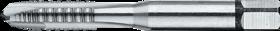 Machinetap voor doorlopende gaten' Metrisch- 22.705 - ISO 529' 60°' onderbroken draad' met schilaansnijding voor doorlopende gaten' aansnijding 5 gangen