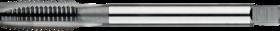 Machinetap voor doorlopende gaten' Metrisch- 22.721 - DIN 376' 60°' dunne schacht' met schilaansnijding voor doorlopende gaten' aansnijding 5 gangen