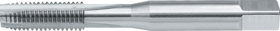Machinetap voor doorlopende gaten' Metrisch- 22.895 - DIN 371' 60°' voor inzetschroefdraden' met schilaansnijding voor doorlopende gaten' aansnijding 5 gangen