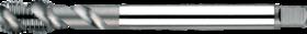 Machinetap voor blinde gaten' Metrisch- 23.481 - DIN 376' 60°' dunne schacht' spiraalhoek 45°' voor blinde gaten' aansnijding 2'5 gangen