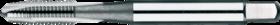 Machinetap voor doorlopende gaten' UNC- 24.120 - DIN 371' 60°' verdikte schacht' met schilaansnijding voor doorlopende gaten' aansnijding 5 gangen