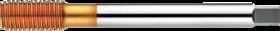 Roltap' Metrisch- 26.111 - DIN 2174' 60°' dunne schacht' voorvorming 3 gangen