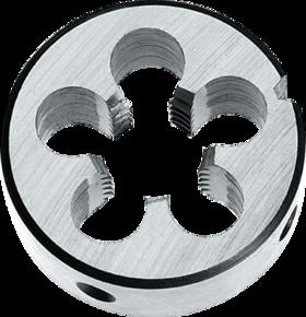 Snijplaat rond' UNC- 27.300 - DIN EN 22568' 60°' voor handgebruik