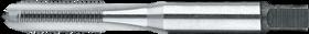 Machinetap voor blinde en doorlopende gaten' BSC (rijwieldraad) links- 29.969 - DIN 79012' 60°' voor doorlopende en blinde gaten' aansnijding 2-3 gangen