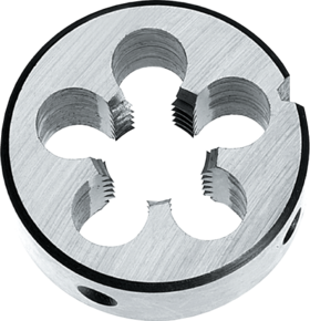 Snijplaat rond' Metrisch Fijn links- 29.972 - DIN EN 22568' 60°' voor handgebruik
