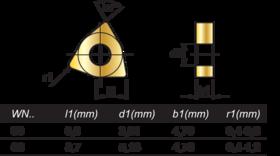 HM-Wisselplaten WNMA- 73.490 -