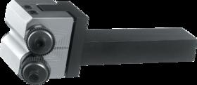 Kartelrolhouder- 75.133 - voor freeskartelrol 14'5x3x5 mm en 21'5x5x8 mm' type AA' BR' BL artikelnr. 75.158 en 75.182