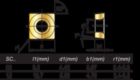 HM-Wisselplaten SCMT- 73.755 -