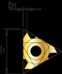 Draadsnijplaat' Metrisch- 74.170 -