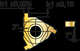 Borgringplaat (seegering) uitwendig- 74.390 - DIN 471