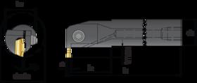 Steekplaathouder- 74.540 - voor dubbelzijdige wisselplaten 74.560