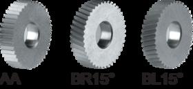 Freeskartelrol HSS- 75.158 - DIN 403' voor kartelrolhouder type MFCNC 16x16