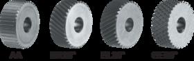 Drukkartelrol HSS- 75.174 - DIN 403' voor kartelrolhouder type M1' M2' M3' M6 en M7