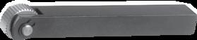 Kartelrolhouder- 75.100 - voor drukkartelrol 20x8x6 mm' type AA' BR' BL' GE artikelnr. 75.174