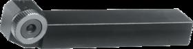 Kartelrolhouder- 75.121 - voor drukkartelrol 25x10x15/11 mm' type AA' BR' BL artikelnr. 75.197' houder voor kartelen tot aan de borst' waarbij de rol links en rechts ingezet kan worden