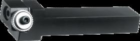 Kartelrolhouder- 75.129 - voor freeskartelrol 21'5x5x8 mm' type AA' BR' BL artikelnr. 75.182' houder met verstelbare kop voor rechts en links gebruik