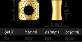 Wisselplaten frezen - 76.500