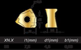 Wisselplaten frezen - 76.520