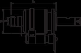 Tapapparaat- 81.532 - voor gebruik met tapinzetstukken' met Weldon-opname