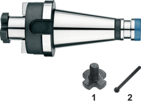 Opsteekfreeshouder- 82.223 - DIN 6357' met SK-opname volgens DIN 2080' oppervlaktegehard HRc 58±2