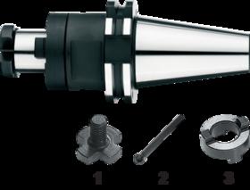 Kombi-opsteekfreeshouder- 82.324 - DIN 6358' met SK-opname volgens DIN 69871