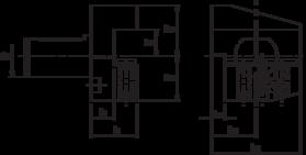 Gereedschapshouder- 83.113 - gereedschapshouder radiaal' links' kort' omgekeerd