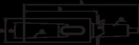 Boorhuls- 84.110 - DIN 2187' geheel gehard en geslepen